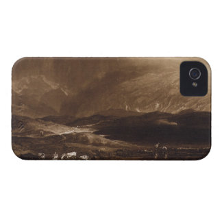 Peat Bog, Scotland, engraved by George Clint (1770 iPhone 4 Cover