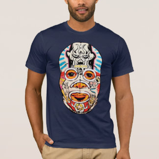 "Peat Wollaeger ""Jim Mahfood Collabomask"" T-Shirt"