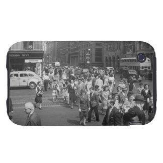 Peatones iPhone 3 Tough Carcasas