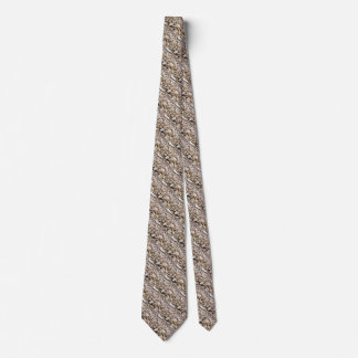 Pebble background pattern neck tie