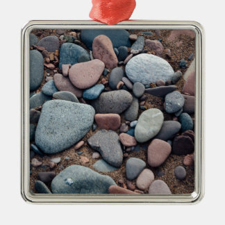 Pebble Beach Metal Ornament