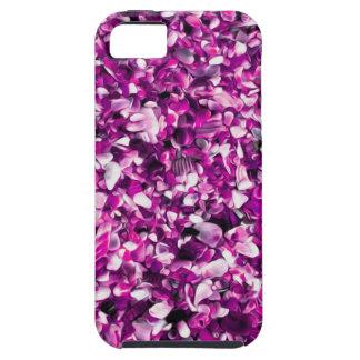 Pebble Beach pintado púrpura de moda iPhone 5 Carcasa