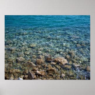 pebble beach poster