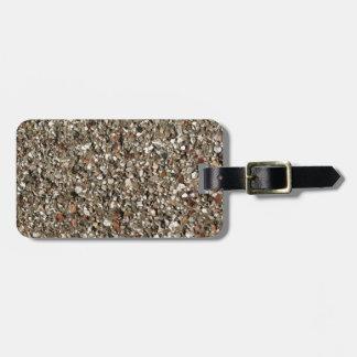 pebble dashed bag tag