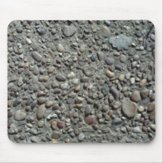 Pebble Embedded Concrete Mousepad