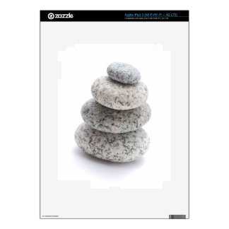 pebble sculpture decal for iPad 3