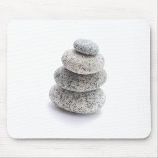 pebble sculpture mouse pad