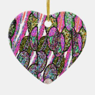 Pebble Speckle Ceramic Ornament