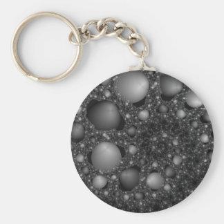 Pebble Spiral Keychain