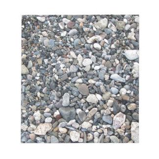 Pebble texture notepad
