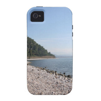 Pebbled Beach Vibe iPhone 4 Cases