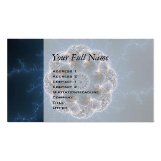 Pebbled Fractal Art Business Card