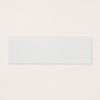 Pebbled Leather Texture Mini Business Card