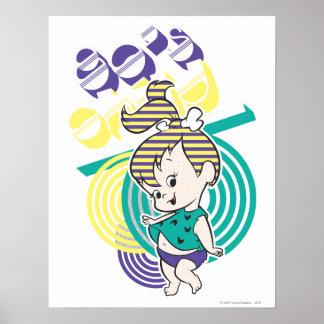 PEBBLES™ 80's Child Poster