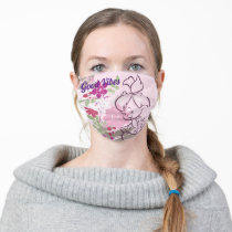 PEBBLES™ A Cutie In The Flowers Adult Cloth Face Mask
