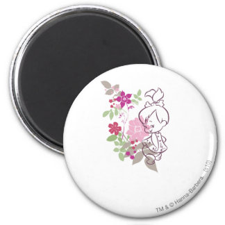 PEBBLES™ A Cutie In The Flowers Magnet