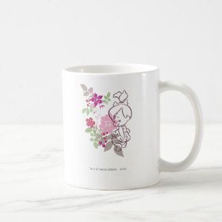 PEBBLES™ A Cutie In The Flowers Classic White Coffee Mug
