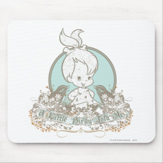 Pebbles A Little Birdy Told Me Mouse Pad