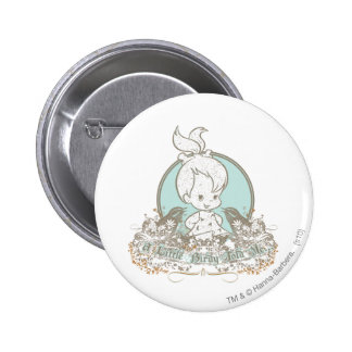 Pebbles A Little Birdy Told Me Pinback Button