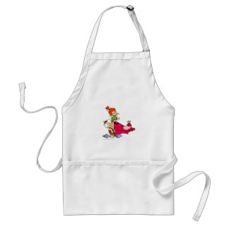 PEBBLES™ and Bam Bam  and Dino Playtime Adult Apron
