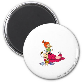 PEBBLES™ and Bam Bam  and Dino Playtime Magnet