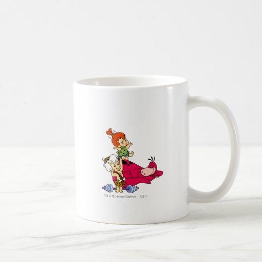 PEBBLES™ and Bam Bam  and Dino Playtime Mug