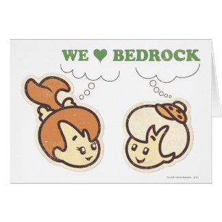 PEBBLES™ and Bam Bam Love Bedrock Card