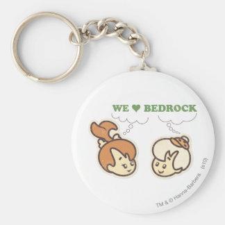 PEBBLES™ and Bam Bam Love Bedrock Key Chain