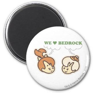 PEBBLES™ and Bam Bam Love Bedrock Magnet
