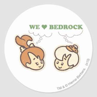 PEBBLES™ and Bam Bam Love Bedrock Stickers