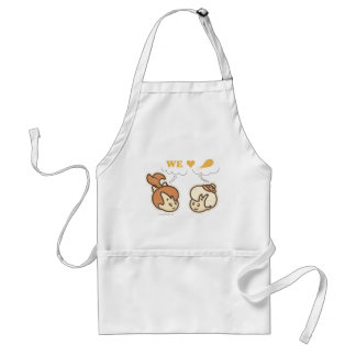 PEBBLES™ and Bam Bam Love Food Adult Apron