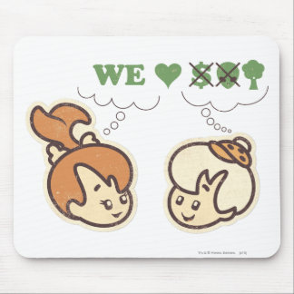 PEBBLES™ and Bam Bam Loves Nature Mouse Pad