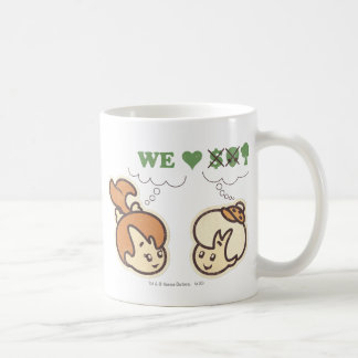 PEBBLES™ and Bam Bam Loves Nature Classic White Coffee Mug