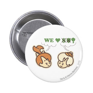 PEBBLES™ and Bam Bam Loves Nature Pinback Button