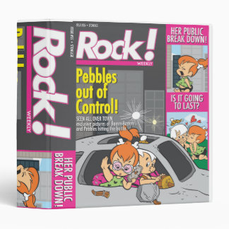 PEBBLES™ and Bam Bam Out of Control Vinyl Binders