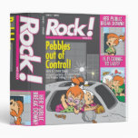 PEBBLES™ and Bam Bam Out of Control Vinyl Binder