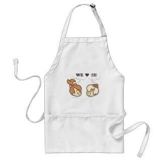 Pebbles and Bam Bam We Love Apron
