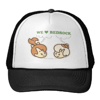 PEBBLES™ and BAMM-BAMM™ Love Bedrock Trucker Hat