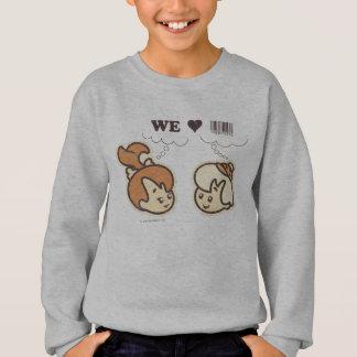 Pebbles and BAMM-BAMM™ We Love Sweatshirt