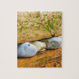 Pebbles and Driftwood Jigsaw Puzzle