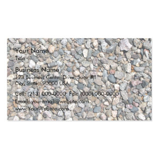 Pebbles and Loose stone Texture Double-Sided Standard Business Cards (Pack Of 100)