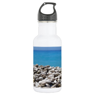 Pebbles and Sea 18oz Water Bottle