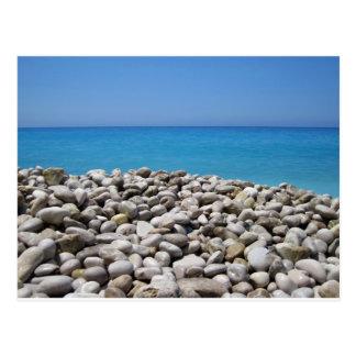 Pebbles and Sea Postcard