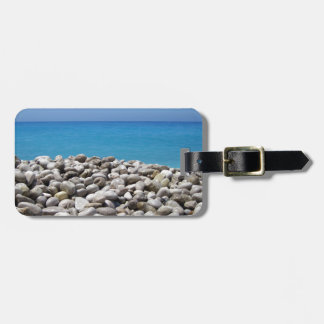 Pebbles and Sea Tags For Luggage