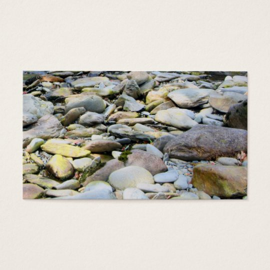 Pebbles and Stones Business Card