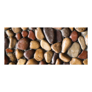 Pebbles background rack card