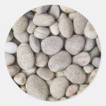 pebbles background sticker