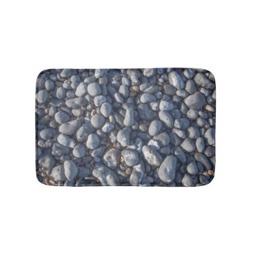 Beach Themed Pebbles bath mat