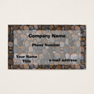 Pebbles Business Card