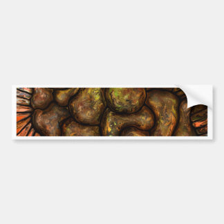 Pebbles by rafi talby bumper sticker